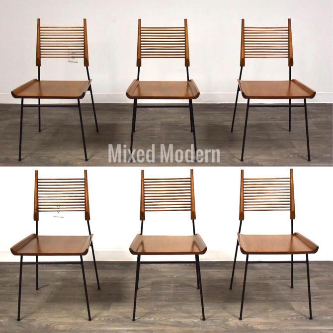 Paul McCobb Shovel Chairs- Set of 6 by mixedmodern1