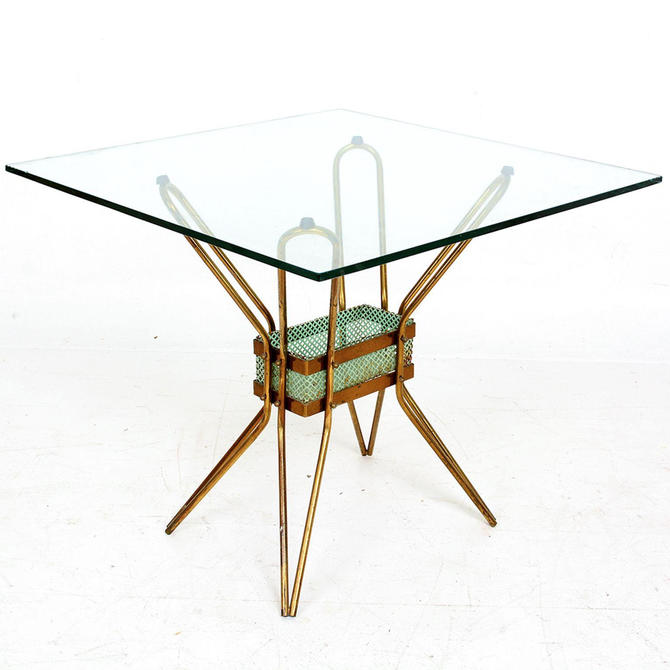 Glamorous Sculptural Side Table Style of Pietro Chiesa Italy 1950s by AMBIANIC