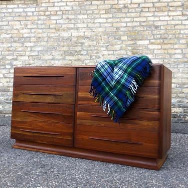 Bissman Solid Ozark Walnut Dresser