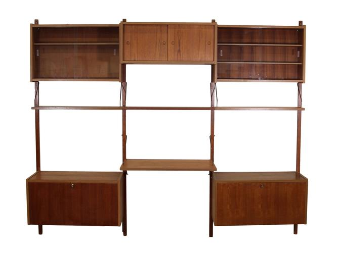 Mid Century 3 Bay Wall Unit by PS Systems by RetroPassion21