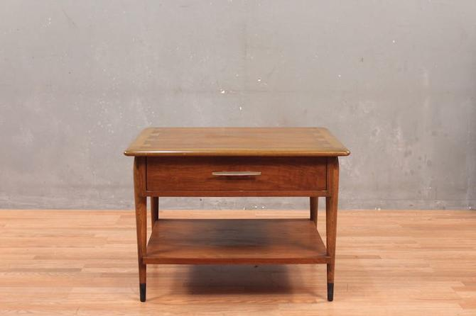 Lane Mid Century Dovetail 1-Drawer End Table – ONLINE ONLY