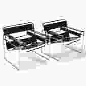 Marcel Breuer Pair of Wassily Chairs by Knoll