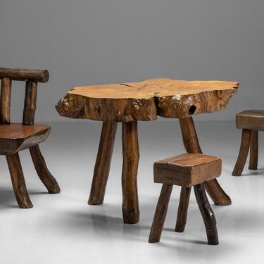 Primitive Mountain Table Set