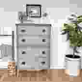 Green Tall Dresser
