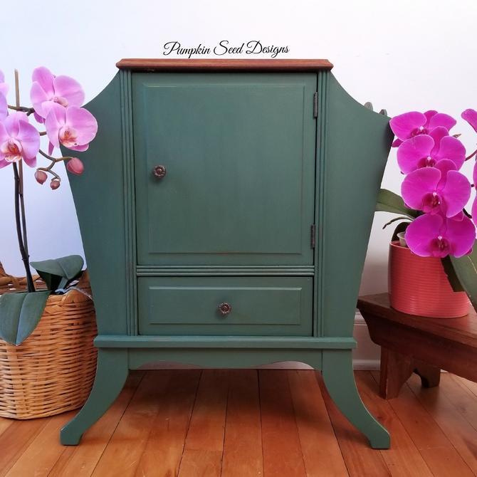 Green Mahogany Humidor