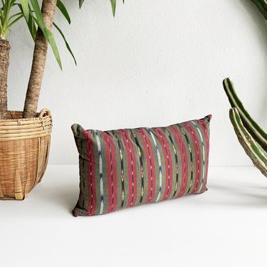 Deadstock Textile Lumbar Pillow