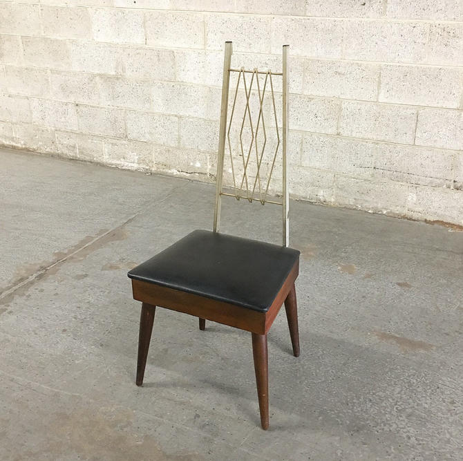 LOCAL PICKUP ONLY ------------- Vintage Butler's Chair by RetrospectVintage215
