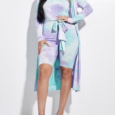 Romper and duster set