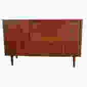 Bassett Credenza or Dresser  Walnut Mid Century Modern by HearthsideHome