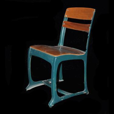 Blue American Seating Church/School Chair