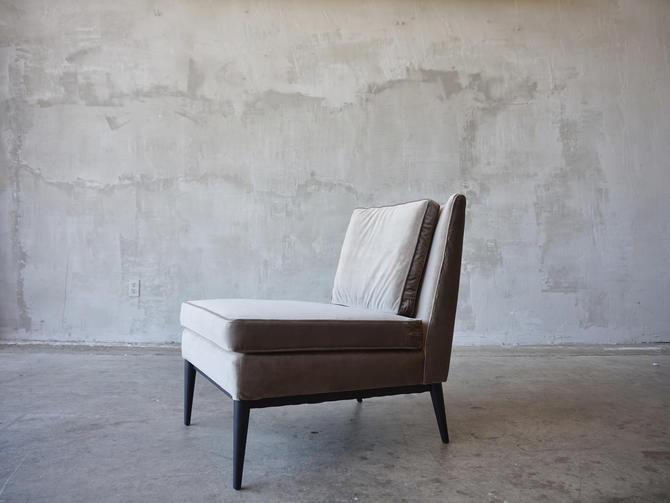 Paul McCobb Slipper Chair by FandFVintage