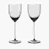 Gorman White Wine Set 2pc   Smoke Green
