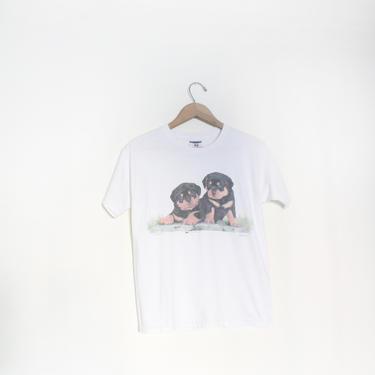 Rottweiler Puppies T Shirt by LooseGoods