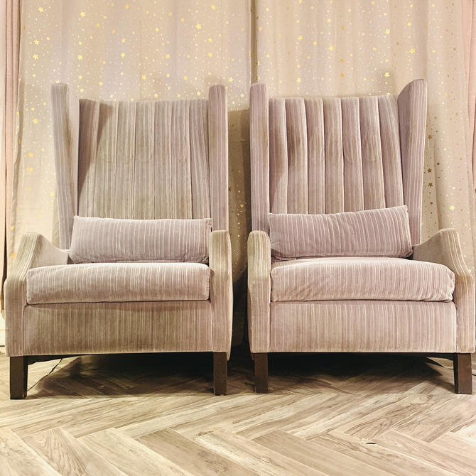 Channel High-back Ocassional Chairs by OMGaudyLA