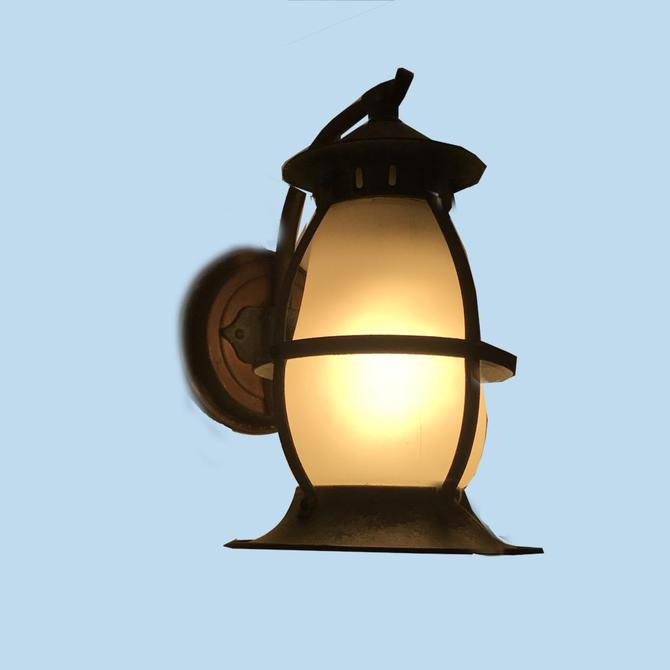 Exterior Lantern Sconce