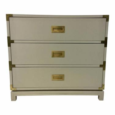 Ave Home Modern Gray Carlyle Campaign Chest of Drawers