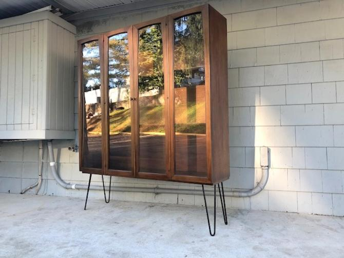Mid-Century Broyhill Emphasis Hutch Bookcase
