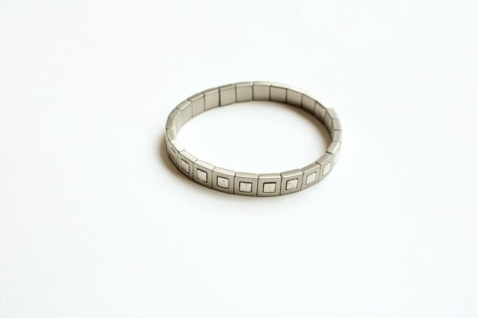Roxanne Assoulin Silver Stretch Bracelet