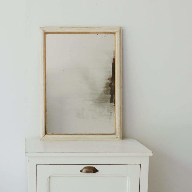 Ribbed Vintage Mirror