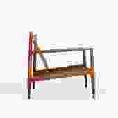 Grete Jalk Lounge Chair in Solid Teak by France & Son