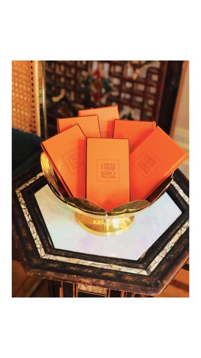Hermès knotting cards