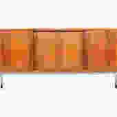 Danish Modern Mid Century Arne Vodder Style Rosewood Sliding Door Credenza by MidCenturyMobler