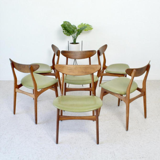 Set of 6 Dining Chairs as Found