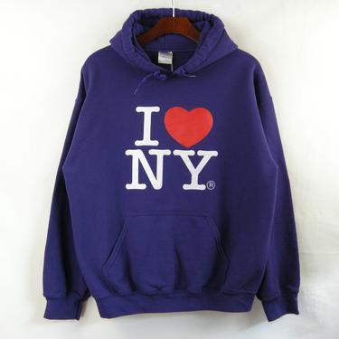 Purple NY Pullover Hoody