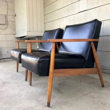 Pair of Midcentury Lounge Chairs
