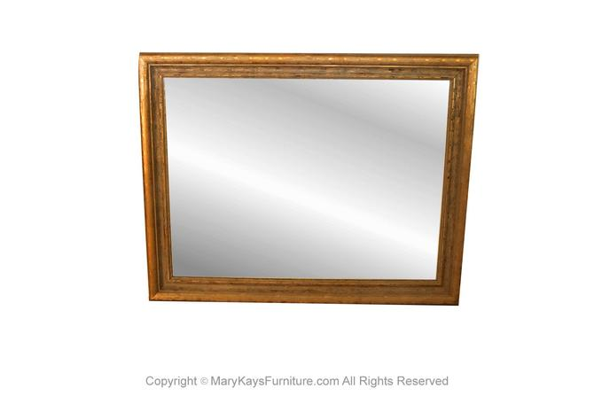 Vintage Large 20th Century Giltwood Mirror by Marykaysfurniture