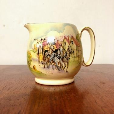 Vintage Royal Winton Happy Days Creamer by OverTheYearsFinds
