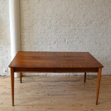 MCM Lane First Ed. Walnut Extending Dining Table by RLChicago
