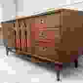 Midcentury  BrasiliaTriple Dresser/Credenza