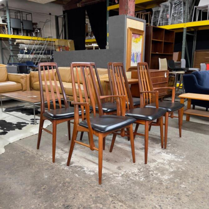 Set of 6 Eva Koefoed Hornslet Dining Chairs