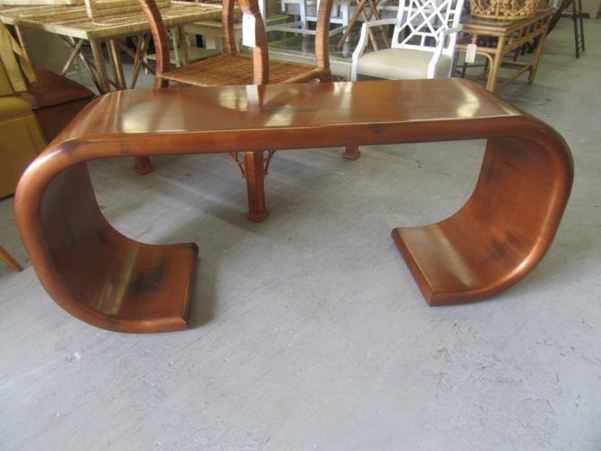 Handsome Wooden Ming Console