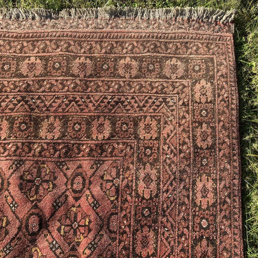 Afghan Rug 6' 7 x 10' 7 Tribal Wool Oriental Rug by JessiesOrientalRugs