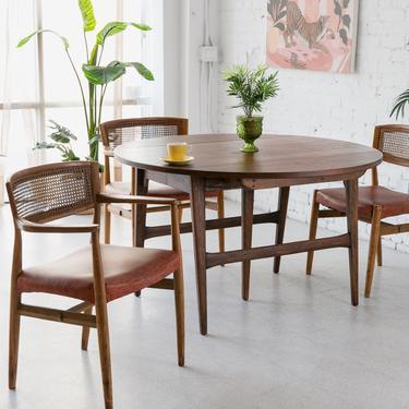 Walnut Round Dining table
