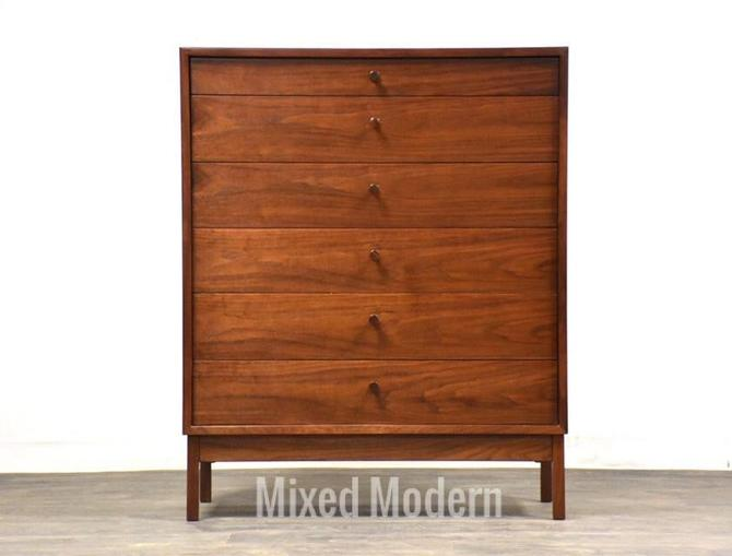 Tall Walnut MCM Dresser by mixedmodern1