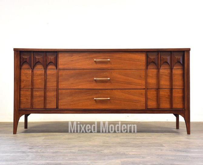 Kent Coffey Perspecta Walnut Dresser by mixedmodern1