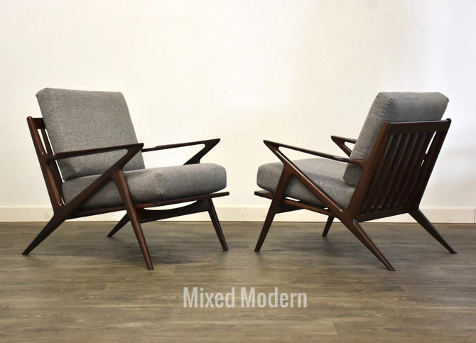 Poul Jensen for Selig Lounge Chairs - A Pair by mixedmodern1