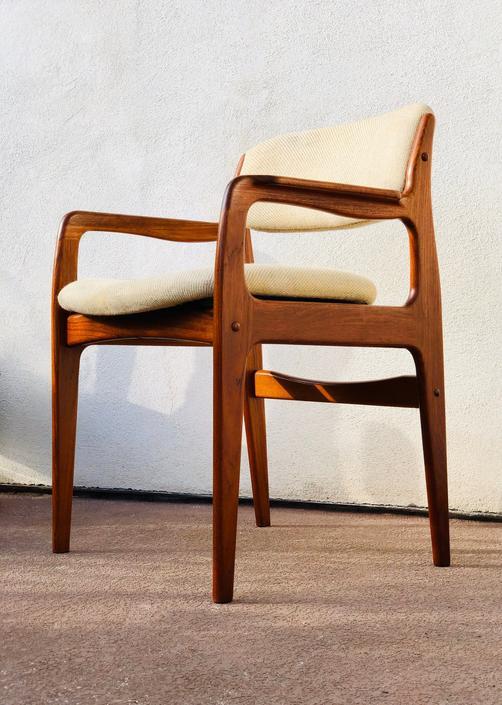 Vintage Benny Linden Teak Accent Chair by BentwoodVintage