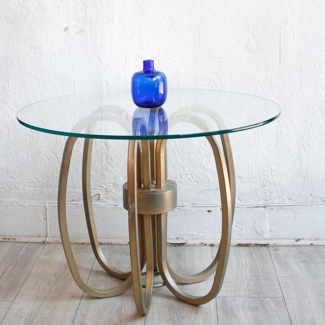Milo Baughman Spider Brass Side Table