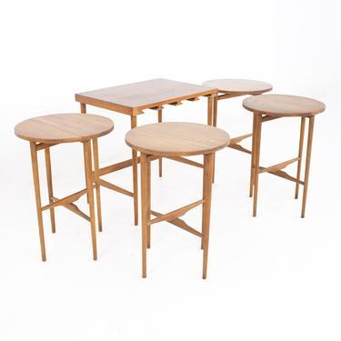 Poul Hundevad Style Mid Century Danish Teak Nesting Tables - MCM by ModernHill