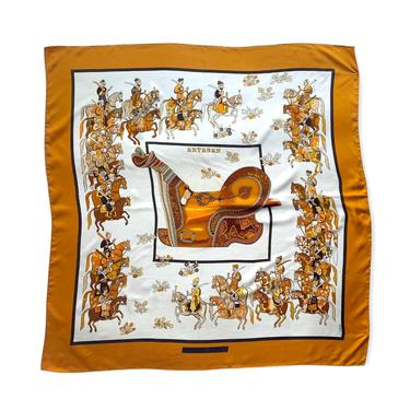 "Vintage Hermès ""Artaban"" Silk Scarf by waywardcollection"