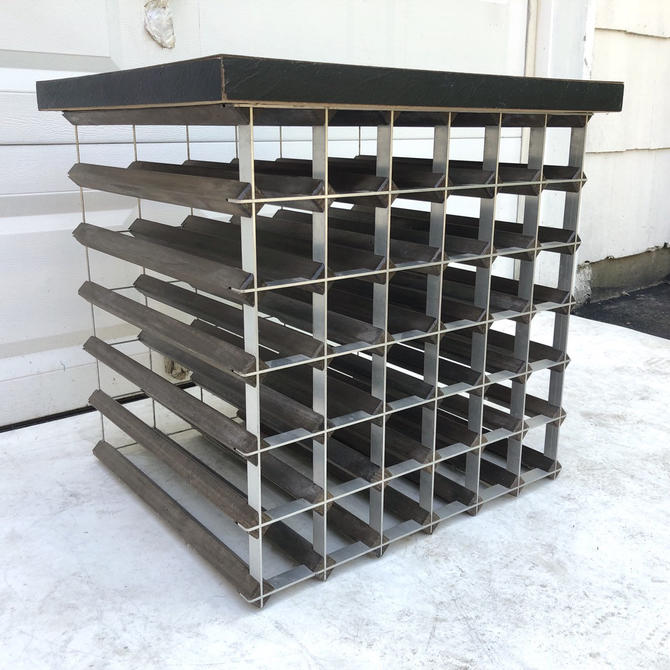 Sturdy Vintage Wine Rack or Table- 36 Bottle Capacity by secondhandstory