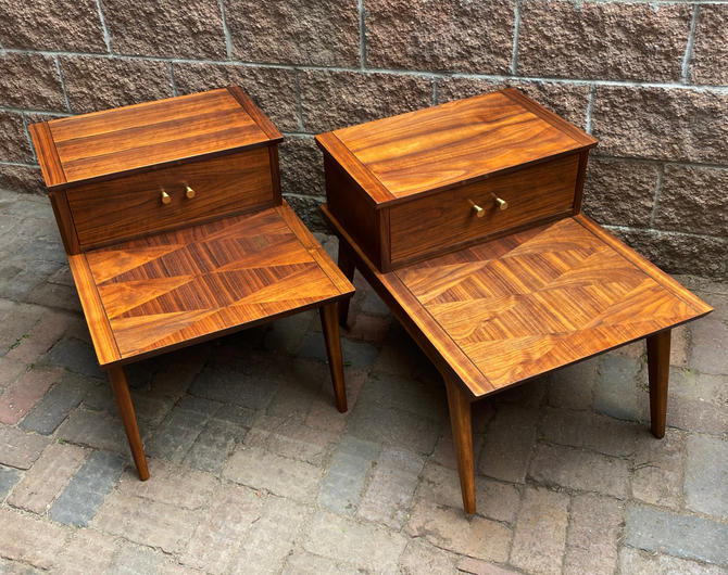 Accent Tables With Marquetry Tops