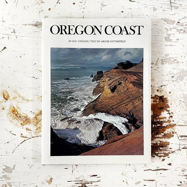 Oregon Coast by Ray Atkeson and Archie Satterfield - Photography Art Coffee Table Book/Bohemian Home Decor by CollectedATX