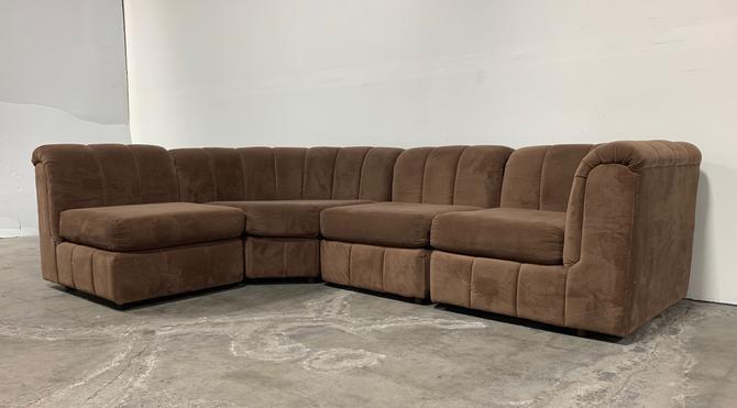 Tremendous Vintage 1970S Sectional Sofa M From Sunbeam Vintage Of Creativecarmelina Interior Chair Design Creativecarmelinacom