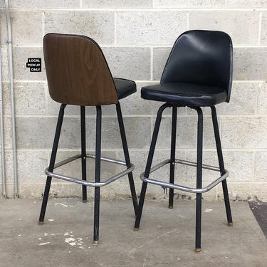 LOCAL PICKUP ONLY ———— Vintage Douglas Furniture Bar Chairs by RetrospectVintage215