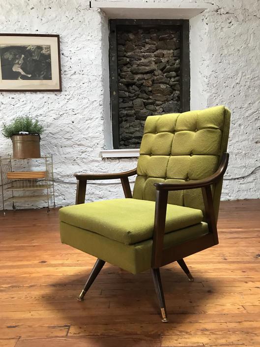 Mid century lounge chair danish modern arm chair mid century modern ...